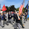 Seabrook: The annual Memorial Day Parade steps off from Seabrook Town Hall Sunday morning. Jim Vaiknoras/Staff photo