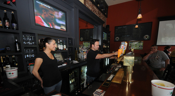 Newburyport: Best Bar. Port Tavern.<br /> Bartender Zeke Janas