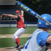 Georgetown: Amesbury's  Sean Ward pitches against Georgetown during the championship game at the Bert Spofford Memorial Tournament at Georgetown High School Sunday.Jim Vaiknoras/Staff photo