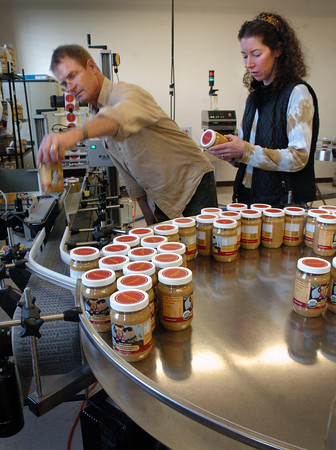 Amesbury: Bob and Eileen Silva have expanded their business Simple Food which produces a soynut butter in several flavors. Bryan Eaton/Staff Photo