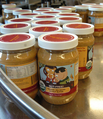Amesbury: Simple Foods soynut butter. Bryan Eaton/Staff Photo