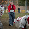 Amesbury: Amesbury High School football coach Thom Connors at practice on Friday. Bryan Eaton/Staff Photo