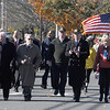 Newburyport: The annual Veteran Day parade makes it's way down Pond Street in Newburyport Thursday morning. Jim Vaiknoras/Staff photo