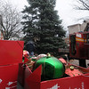 Amesbury: Decorations sit near the Christmas Tree in Market Square in Amesbury ready to be put up around teh downtown. Jim Vaiknoras/Staff photo