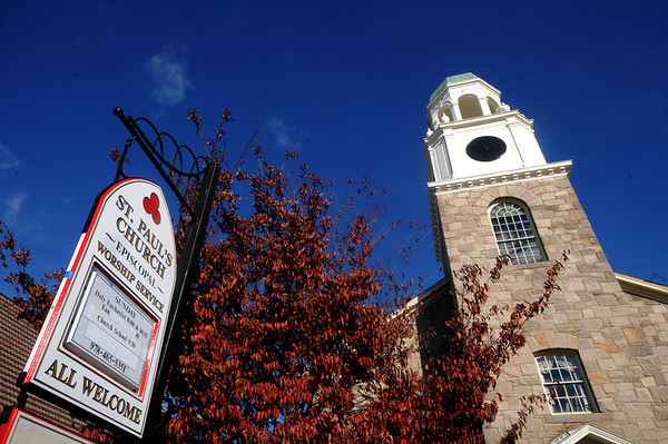 Newburyport: St Paul's Chruch in Newburyport. Jim Vaiknoras/Staff photo