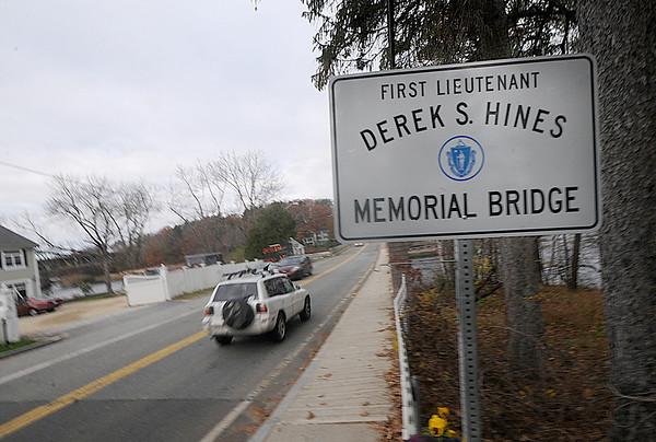 Amesbury: The Derek Hines Memorial Bridge connecting Newburyport and Amesbury will be closed for the next 18 month. Jim Vaiknoras/Staff photot