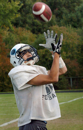 Byfield: Triton receiver Dom Rovetto. Bryan Eaton/Staff Photo