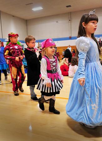 Seabrook: Seabrook Elementary School's Halloween Parade. Bryan Eaton/Staff Photo