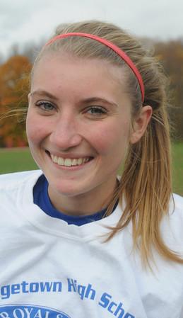 Georgetown:  Georgetown field hockey player Sara Gaeta. Jim Vaiknoras/Staff photo