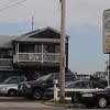 Salisbury: Police respond to a stabbing at the Driftwood Motel in Salisbury Sunday morning. Jim Vaiknoras/Staff photo