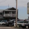 Salisbury: Police respond to a stabbing at the Driftwood Motel in Salisbury Sunday morning. Jim Vaiknoras/Staff photo