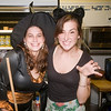 "newburyport: Kim Genaw and Leah Zwemke of the Green Bean on Liberty Street in Newburyport get in the spirit at ""Witches Night Out"" Friday nighht. Jim Vaiknoras/Staff photo"