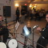 Newbury: Bucky Greaney on bass and Jim Ashworth on guitar perform at the 1970 NHS class reunion Fridat night at PITA Hall. Jim Vaiknoras/Staff photo