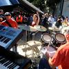 Newburyport: The band Joppa Flats performs at the 2rd annual Chili Festival at the Grog in Newburyport Saturday. Jim Vaiknoras/Staff photo