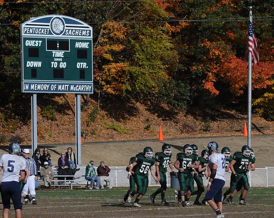 West Newbury: The new scoreboard at Pentucket High school.<br /> ( it hasn't been hooked up yet) JIm Vaiknoras/Staff photo