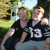 Newburyport: Josh  O'Connor, who will be 10, on 10/10/10 Sunday poses with his mom Sue. Jim Vaiknors/Staff photo