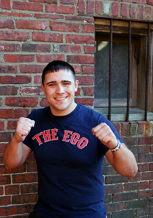 """Amesbury: Local Global Fight League fighter, Chris """"The Ego"""" Fisette. Photo by Ben Laing/Staff Photo"""