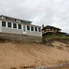 Newbury: This house on Annapolis Way on Plum Island has been given approval to be rebuilt further off the beach. Photo by Ben Laing/Staff Photo