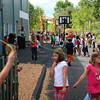 Newburyport: Children at the River Valley Charter School enjoy recess Thursday afternoon. Photo by Ben Laing/Staff Photo