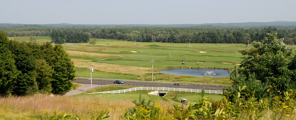 """South Berwick: The view of the front 9 from the 12th tee, a hole aptly nicknamed """"The View"""" at the Links at Outlook in South Berwick Me. Jim Vaiknoras/Staff photo"""