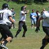 West Newbury: Marblehead quarterback Dan Colbert looks for a reciever at Pentucket Saturday. JIm Vaiknoras/Staff photo