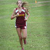 Hamilton: Renee Angelo was the first Newburyport girl across the line. Bryan Eaton/Staff Photo