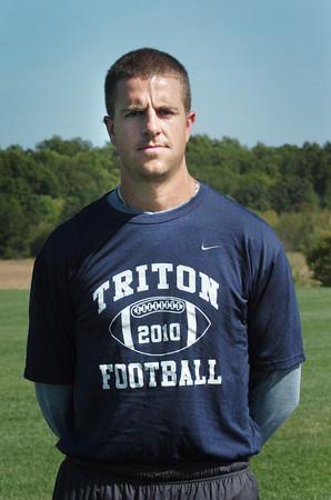 Byfield: New Triton High head football coach Patrick Sheehan. Bryan Eaton/Staff Photo
