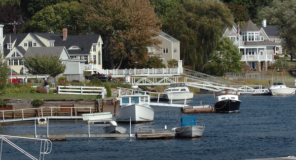 Amesbury: Many waterfront properties, such as those along Point Shore, rose slightly in value.<br /> Bryan Eaton/Staff Photo