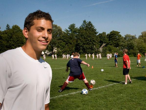 Newburyport: Newburyport High School soccer player Yazid Eideh has been fasting for Ramadan. Bryan Eaton/Staff Photo