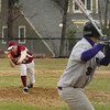 Newburyport: Newburyport's Ryan O'Connor pitches against Martha's Vineyard in the Lower Field. Bryan Eaton/Staff Photo