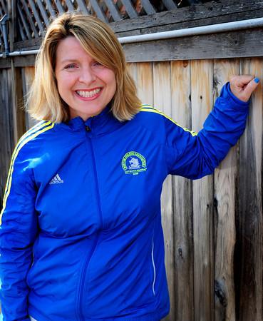Newburyport: Ruth Beberman is running the Boston Marathon for Dana Farber<br /> Bryan Eaton/Staff Photo