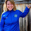 Newburyport: Ruth Beberman is running the Boston Marathon for Dana Farber<br /> Bryan Eaton/Staff Photo