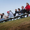 Amesbury: Spectators get a bird's eye view at Amesbury High School as they watched their baseball team take on Triton yesterday afternoon. Bryan Eaton/Staff Photo