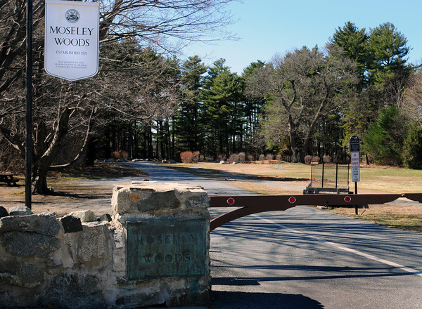 Newburyport: The gate to Moseley Woods will be open on Saturday April 16th for the season. Bryan Eaton/Staff Photo