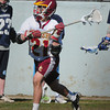 Newburyport: Newburyport's Tyler Matses looks for an open teammate in action against Wilmington. Bryan Eaton/Staff Photo