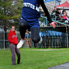 Byfield: Triton's Lauren Robert competes in the triple jump. Bryan Eaton/Staff Photo