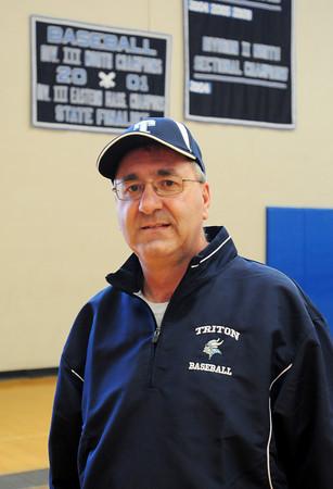 Byfield: New Triton varsity baseball coach Richard Dube. Bryan Eaton/Staff Photo