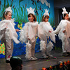 """West Newbury: Kindergartners perform """"Once Upon a Lily Pad"""" for parents at the Page School in West Newbury on Thursday morning. The youngster had been practicing their lines and making the scenery for a month. Bryan Eaton/Staff Photo"""