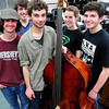 West Newbury: Pentucket High Jazz Band members from left, Eddie Gaudet, Josh Torvi, Duncan Tarr, Elise Homan and James Frietas. Bryan Eaton/Staff Photo