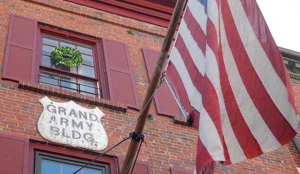 Newburyport: The Grand Army Building on State Street in Newburyport. Jim Vaiknoras/Staff photo