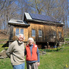 West Newbury: Barbara and Peter Haack at their West Newbury home. Jim Vaiknoras/Staff photo