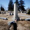 Civil War memorial at the Union Cemetery in Amesbury. Jim Vaiknoras/Staff photo