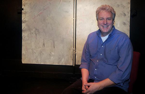 Newburyport: Marc Clopton at the Actor's Studio in Newburyport. Jim Vaiknoras/Staff photo