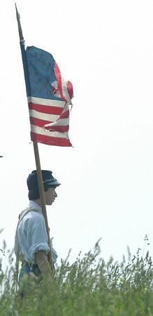 Amesbury: Amesbury Civil War encampment.<br /> <br /> Photo by Jim Vaiknoras/Newburyport Daily News. Tuesday, June 5, 2007