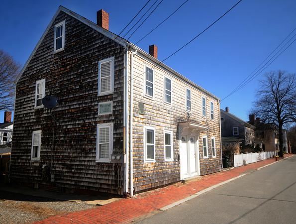 William Garrison's birthplace on School Street in Newburyport. Jim Vaiknoras/Staff photo