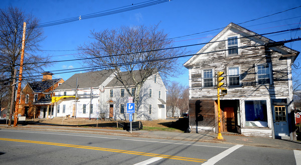Rowley:Buildings being rehabed at 164, 166 and 172 Main Street  in Rowley. Jim Vaiknoras/Staff photo