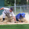 Rowley: Rowely's Jordan Silva successfully steals third base during Monday afternoon's game against Hamilton. Photo by Ben Laing/Staff Photo