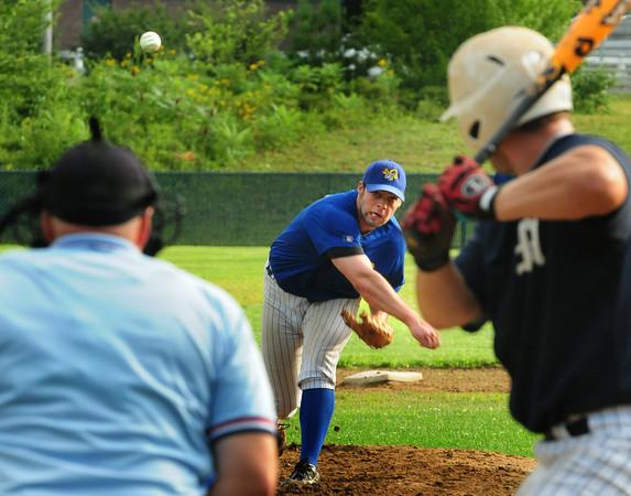 Rowley: Rowley Rams pitcher Joe Katin. Bryan Eaton/Staff Photo