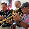 Newburyport: The Dick Kaplan Excellent Jazz Band performs in the Yankee Homecoming Nursing Home Concert Series. Bryan Eaton/Staff Photo