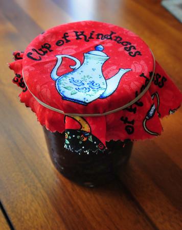 Newburyport: Paula Jorgenson's Blueberry Jam. Bryan Eaton/Staff Photo